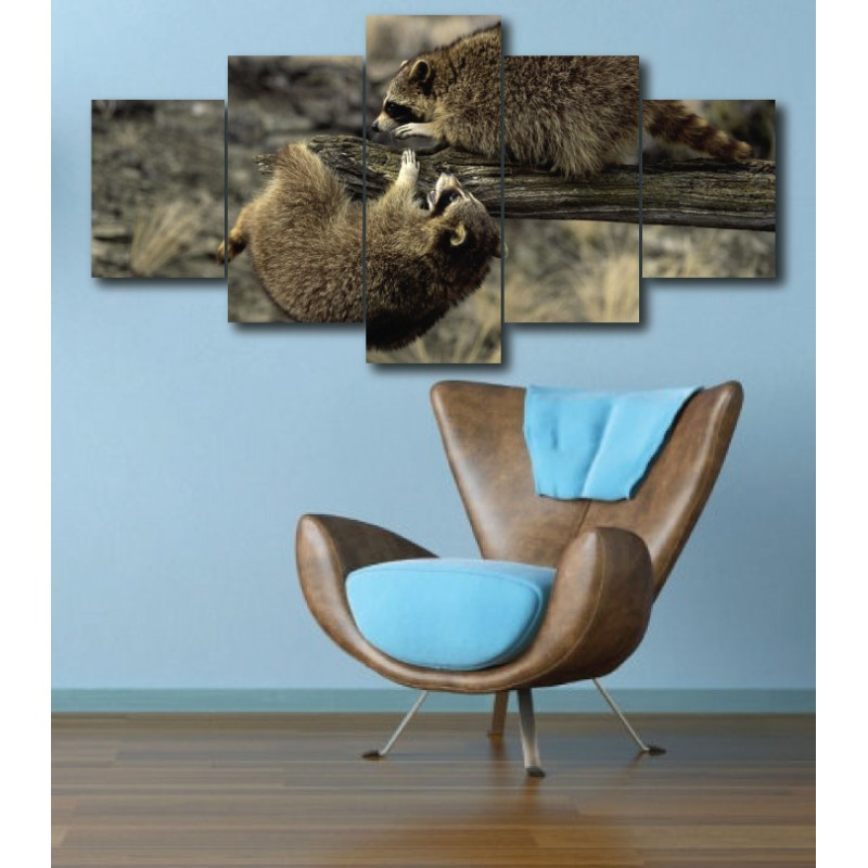 Wall Frames 5 Pieces Set Canvas - Digitally Printed Wall Canvas  post-297