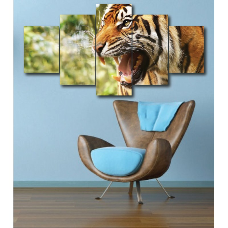 Wall Frames 5 Pieces Set Canvas - Digitally Printed Wall Canvas  post-298