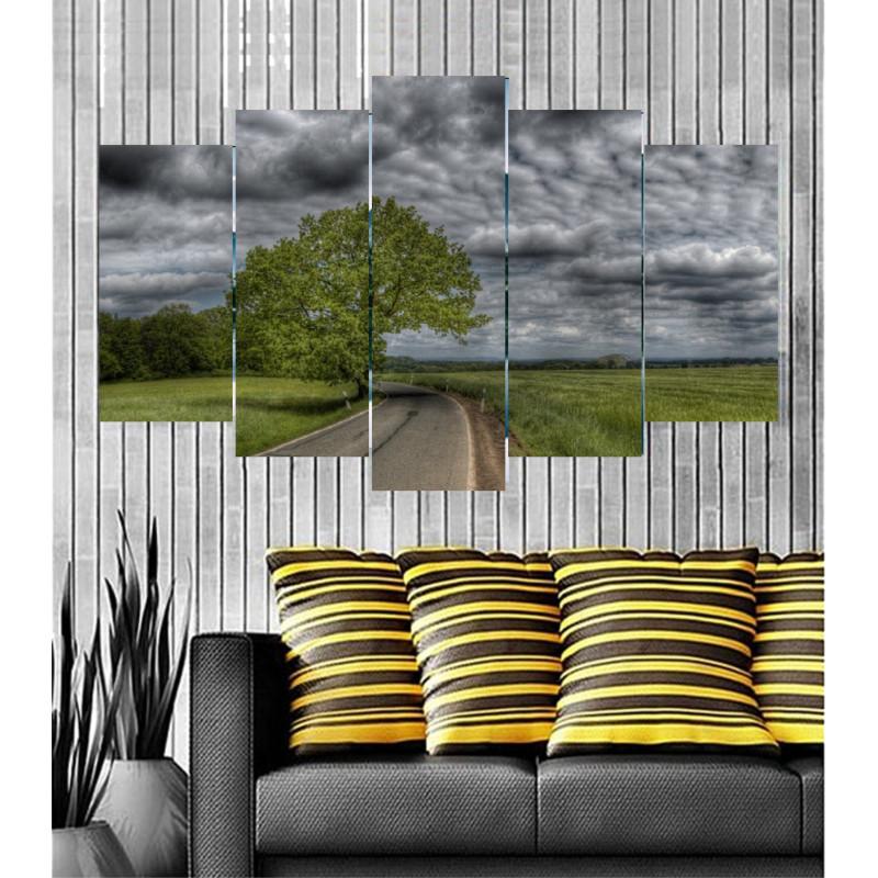 Wall Frames 5 Pieces Set Canvas - Digitally Printed Wall Canvas  post-30