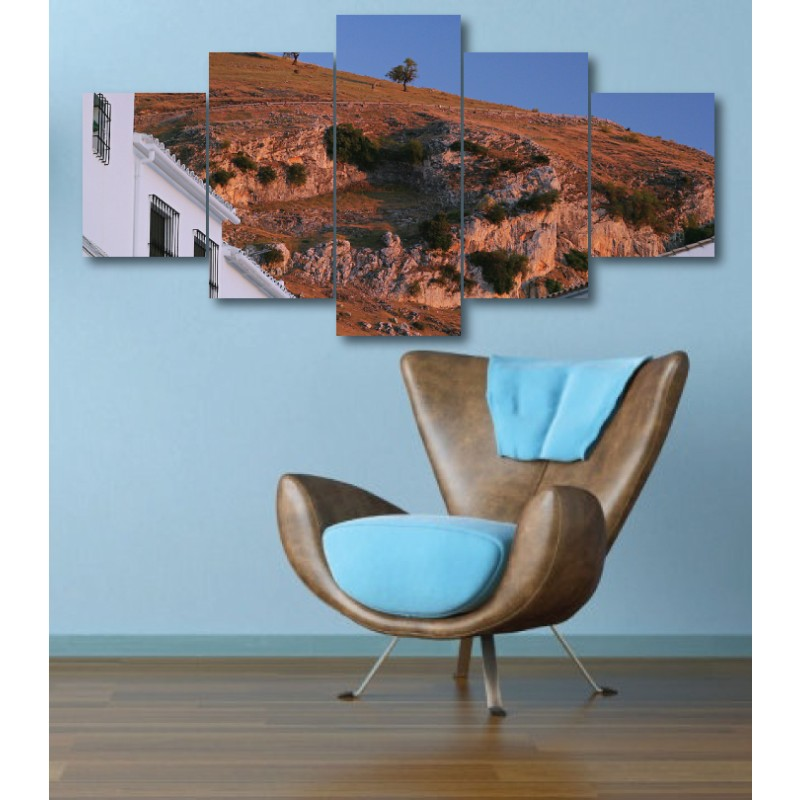 Wall Frames 5 Pieces Set Canvas - Digitally Printed Wall Canvas  post-301
