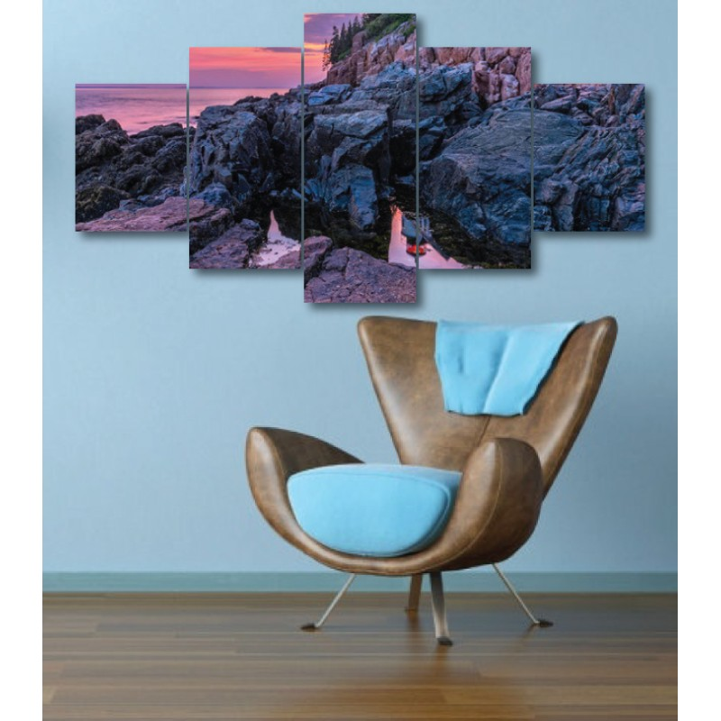 Wall Frames 5 Pieces Set Canvas - Digitally Printed Wall Canvas  post-305