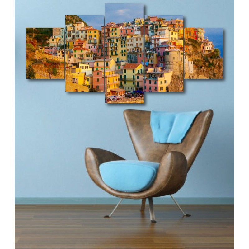 Wall Frames 5 Pieces Set Canvas - Digitally Printed Wall Canvas  post-310