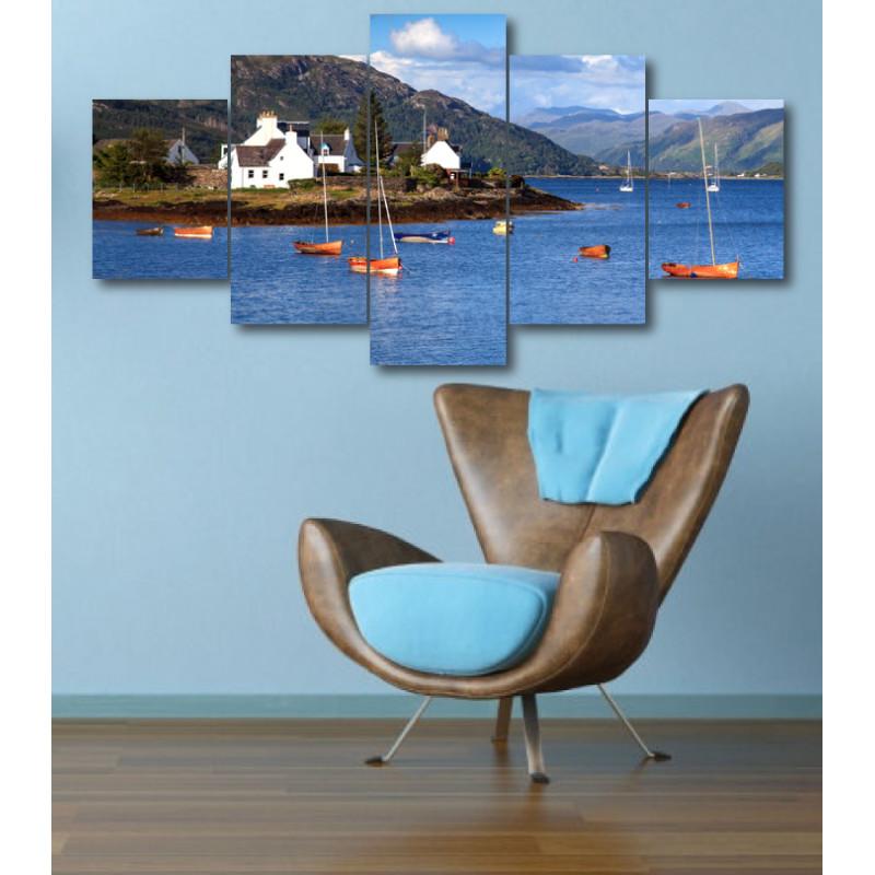 Wall Frames 5 Pieces Set Canvas - Digitally Printed Wall Canvas  post-314