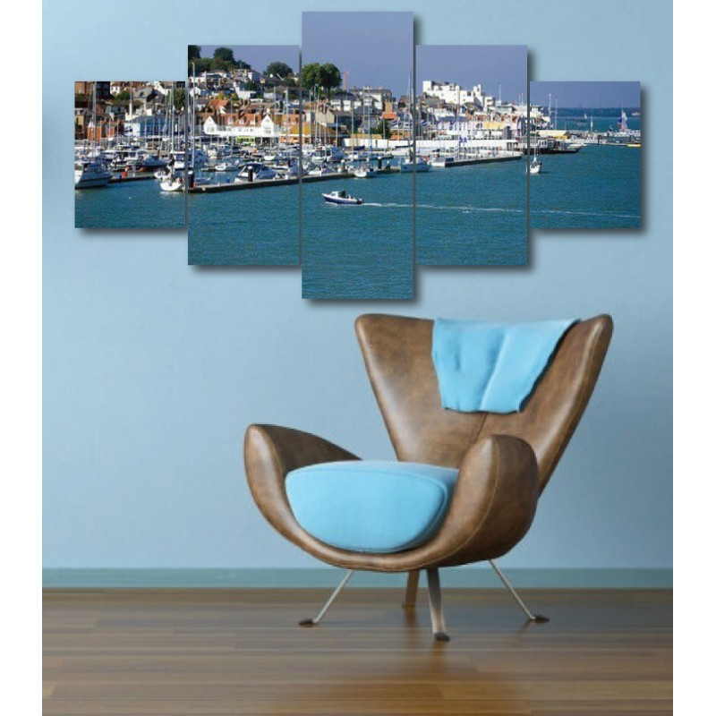 Wall Frames 5 Pieces Set Canvas - Digitally Printed Wall Canvas  post-315