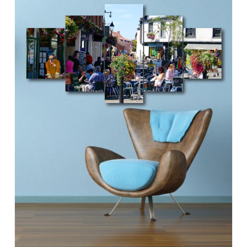Wall Frames 5 Pieces Set Canvas - Digitally Printed Wall Canvas  post-316