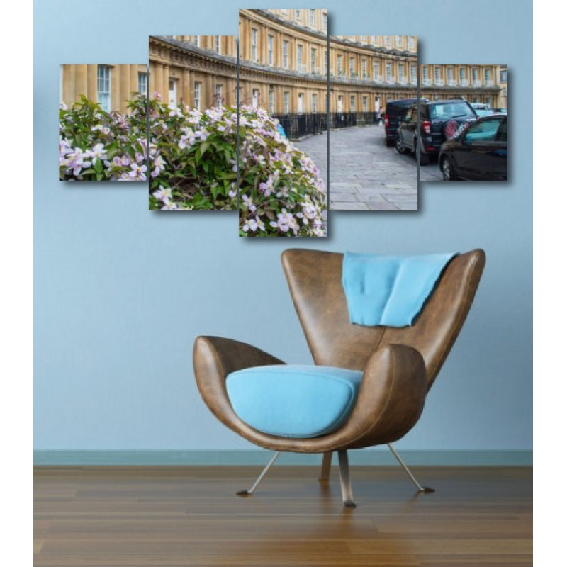 Wall Frames 5 Pieces Set Canvas - Digitally Printed Wall Canvas  post-318