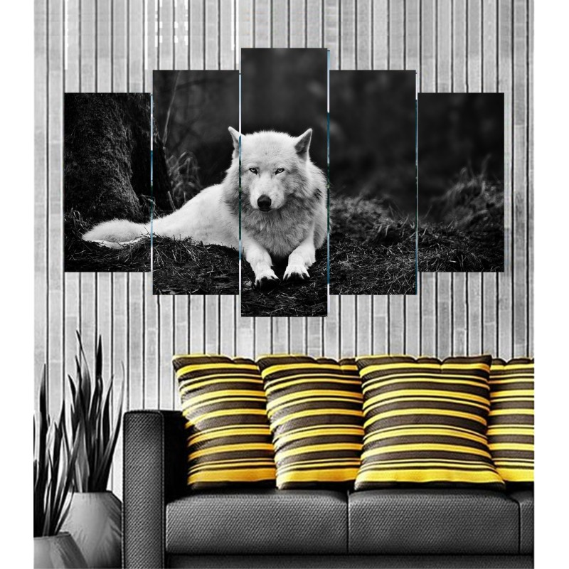 Wall Frames 5 Pieces Set Canvas - Digitally Printed Wall Canvas  post-32