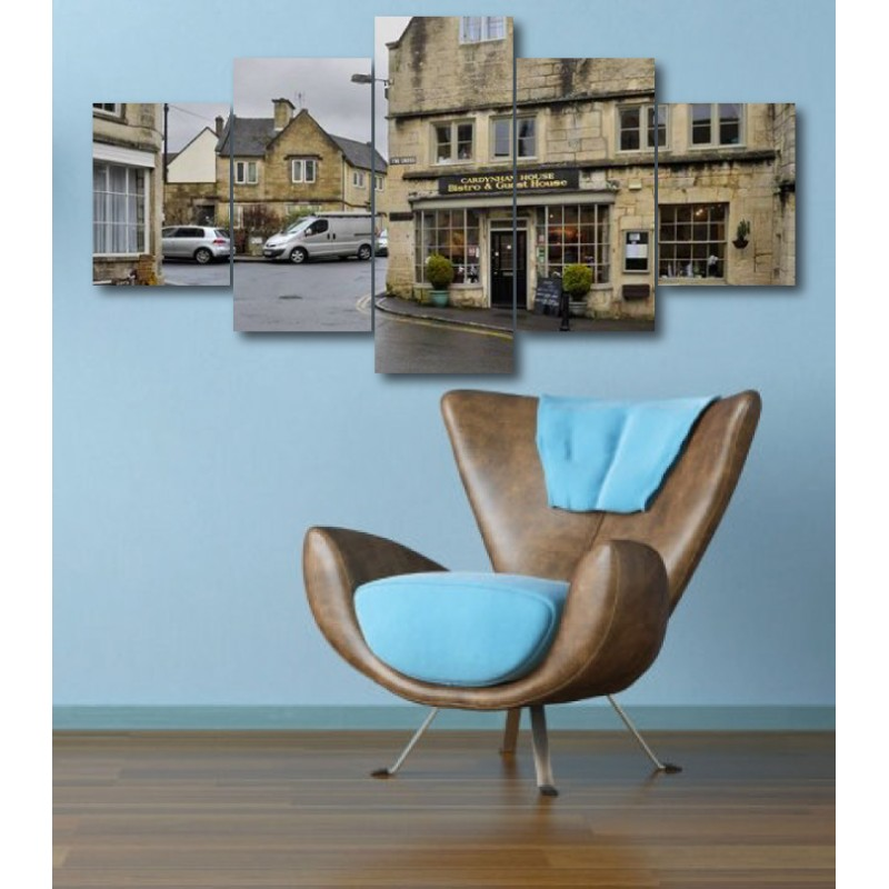 Wall Frames 5 Pieces Set Canvas - Digitally Printed Wall Canvas  post-320