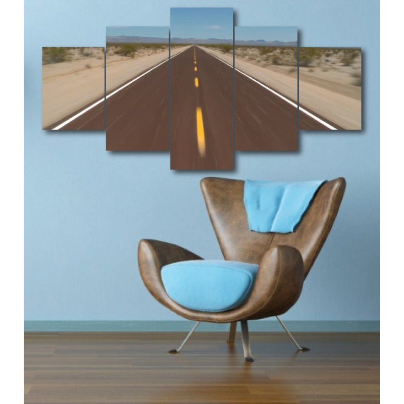 Wall Frames 5 Pieces Set Canvas - Digitally Printed Wall Canvas  post-321
