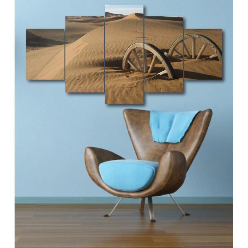 Wall Frames 5 Pieces Set Canvas - Digitally Printed Wall Canvas  post-322