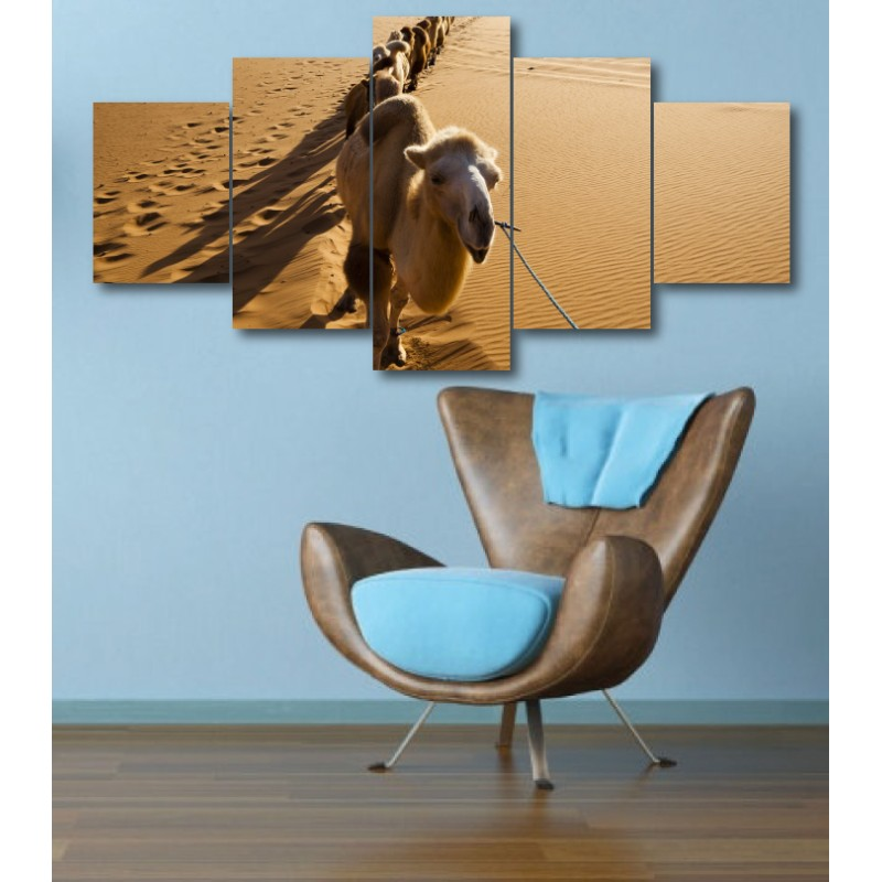Wall Frames 5 Pieces Set Canvas - Digitally Printed Wall Canvas  post-323