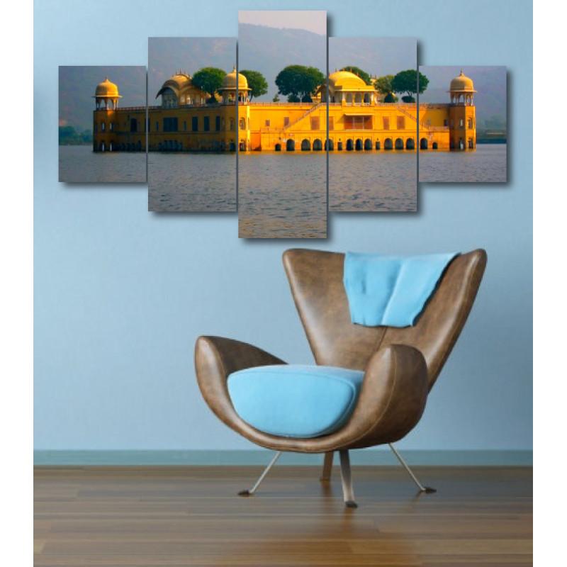 Wall Frames 5 Pieces Set Canvas - Digitally Printed Wall Canvas  post-324