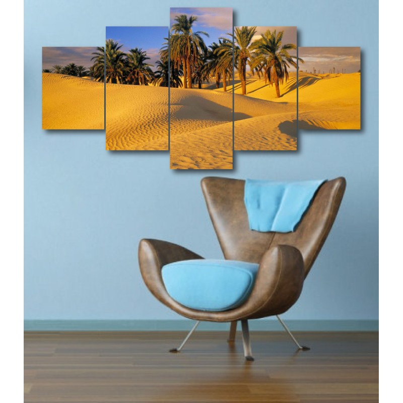 Wall Frames 5 Pieces Set Canvas - Digitally Printed Wall Canvas  post-326
