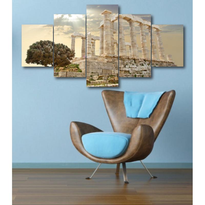 Wall Frames 5 Pieces Set Canvas - Digitally Printed Wall Canvas  post-329