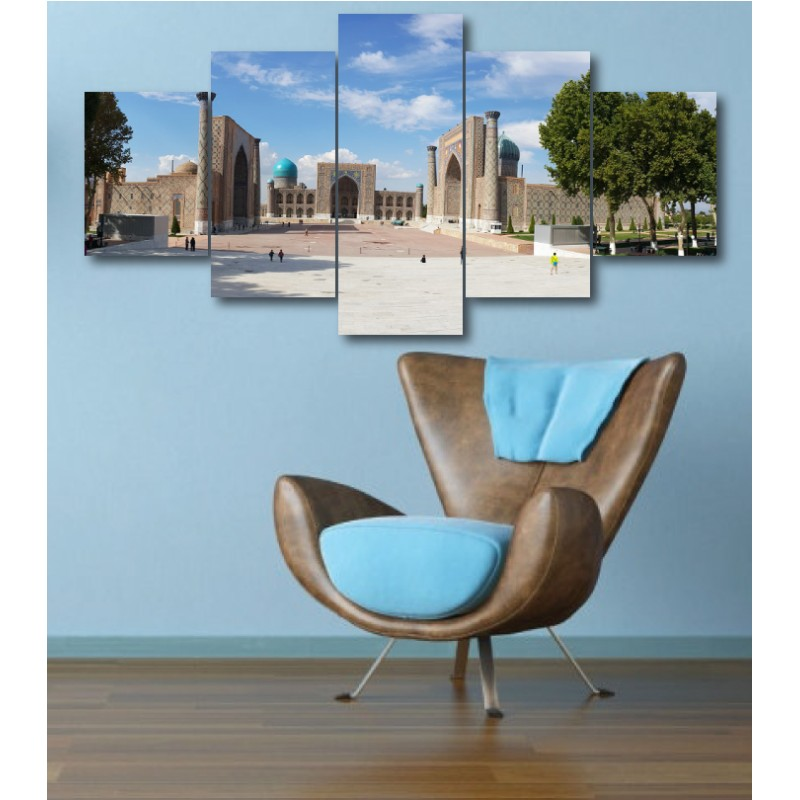 Wall Frames 5 Pieces Set Canvas - Digitally Printed Wall Canvas  post-333
