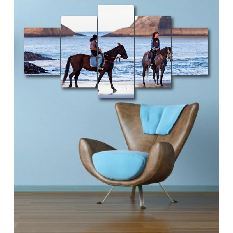 Wall Frames 5 Pieces Set Canvas - Digitally Printed Wall Canvas  post-335