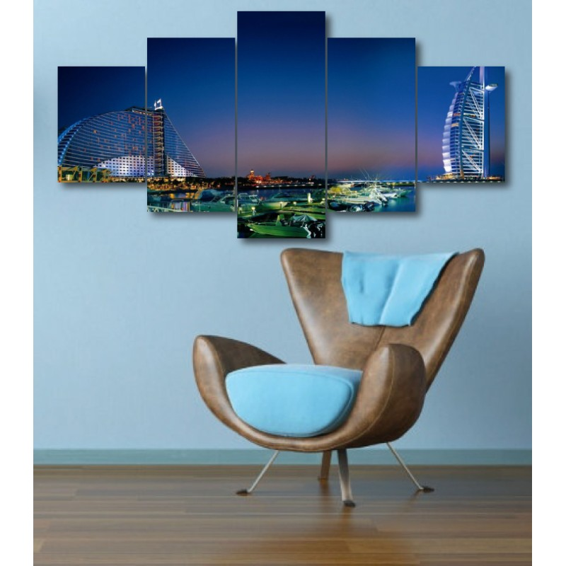 Wall Frames 5 Pieces Set Canvas - Digitally Printed Wall Canvas  post-339