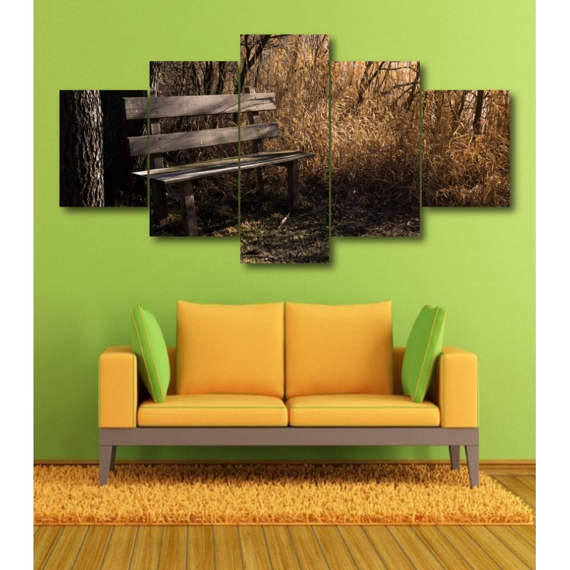 Wall Frames 5 Pieces Set Canvas - Digitally Printed Wall Canvas  post-355