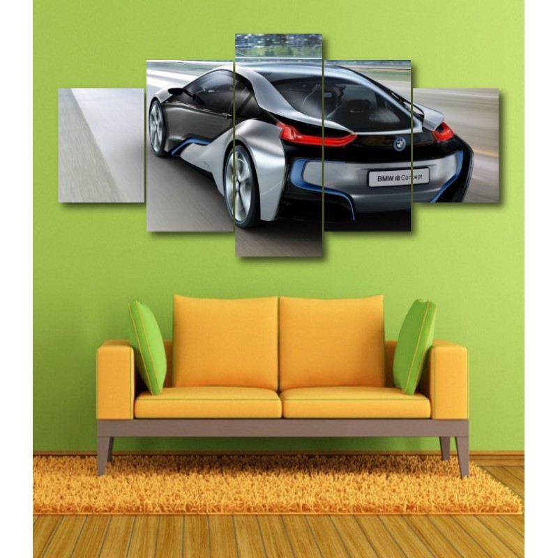 Wall Frames 5 Pieces Set Canvas - Digitally Printed Wall Canvas  post-359