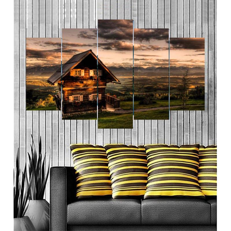 Wall Frames 5 Pieces Set Canvas - Digitally Printed Wall Canvas  post-36
