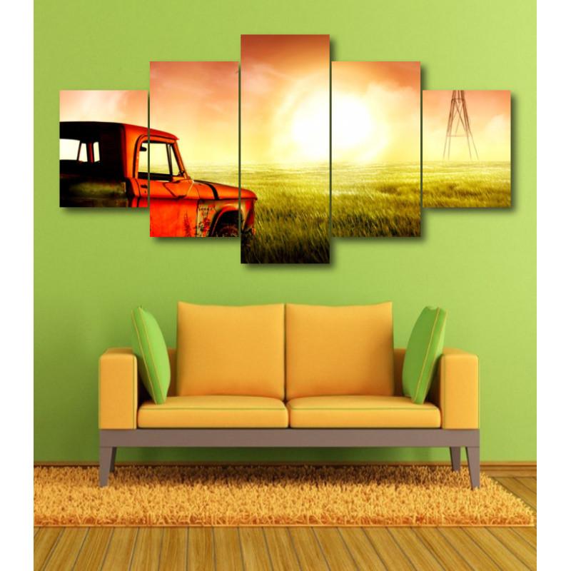 Wall Frames 5 Pieces Set Canvas - Digitally Printed Wall Canvas  post-360