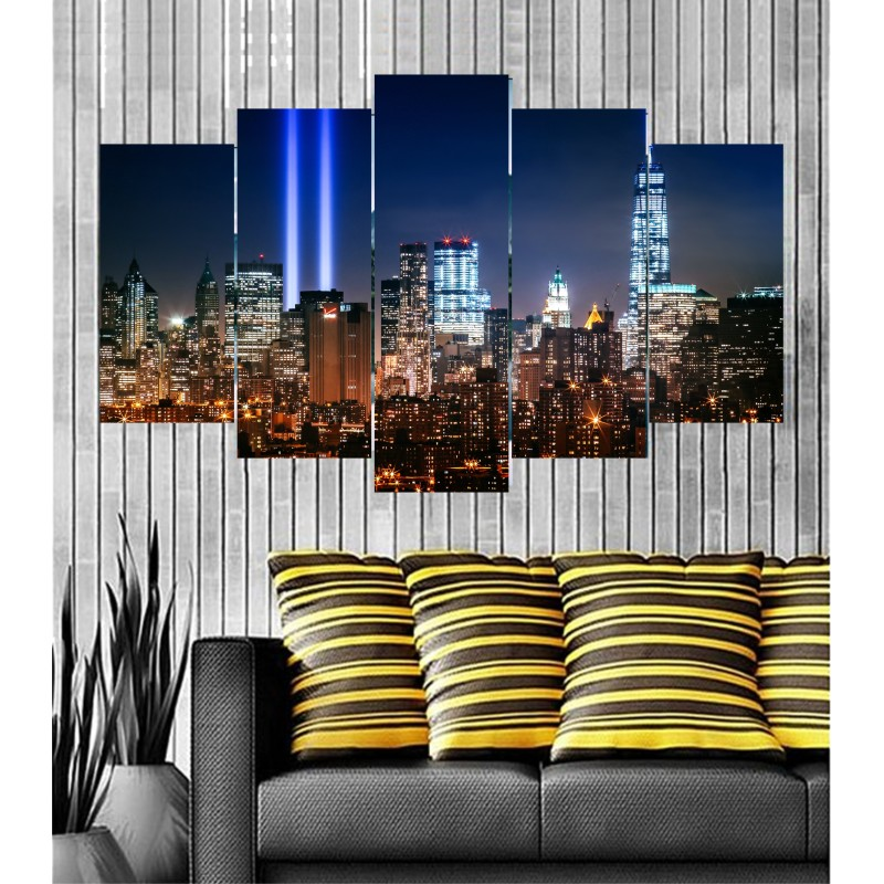 Wall Frames 5 Pieces Set Canvas - Digitally Printed Wall Canvas  post-40