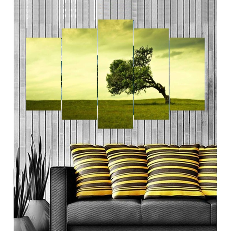 Wall Frames 5 Pieces Set Canvas - Digitally Printed Wall Canvas  post-43