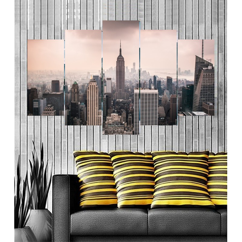 Wall Frames 5 Pieces Set Canvas - Digitally Printed Wall Canvas  post-50