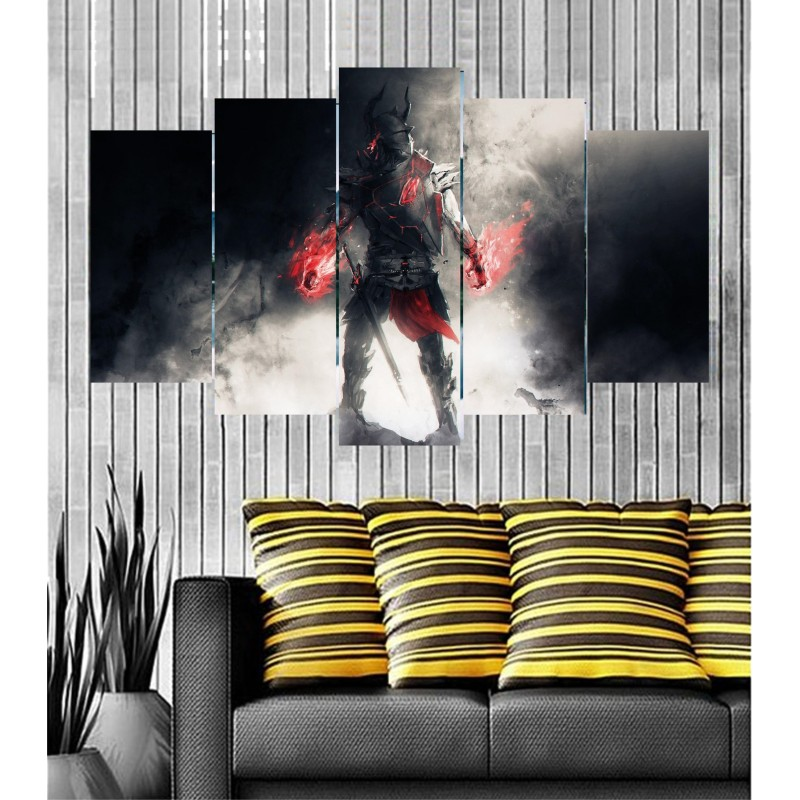 Wall Frames 5 Pieces Set Canvas - Digitally Printed Wall Canvas  post-54