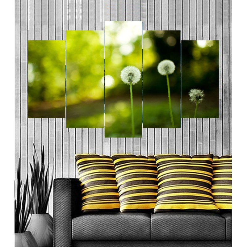 Wall Frames 5 Pieces Set Canvas - Digitally Printed Wall Canvas  post-57