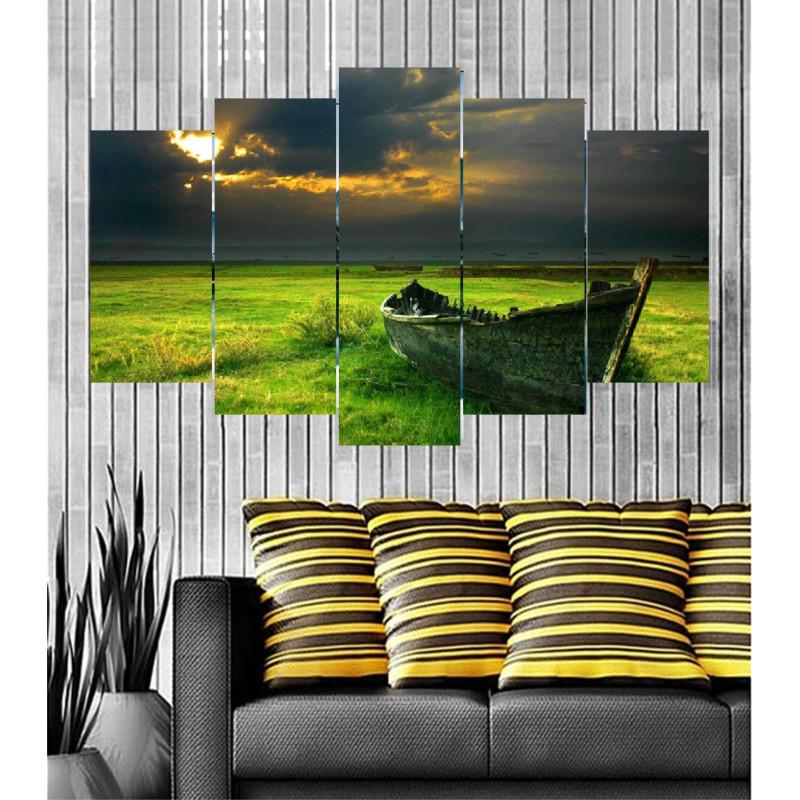 Wall Frames 5 Pieces Set Canvas - Digitally Printed Wall Canvas  post-59