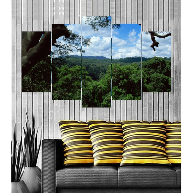 Wall Frames 5 Pieces Set Canvas - Digitally Printed Wall Canvas  post-61