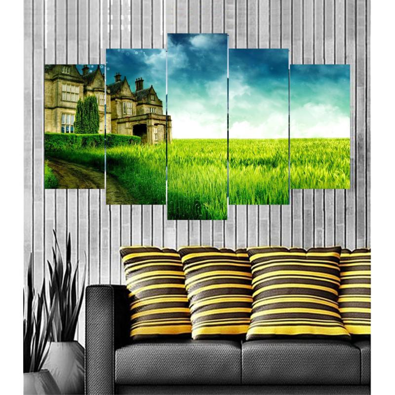 Wall Frames 5 Pieces Set Canvas - Digitally Printed Wall Canvas  post-62