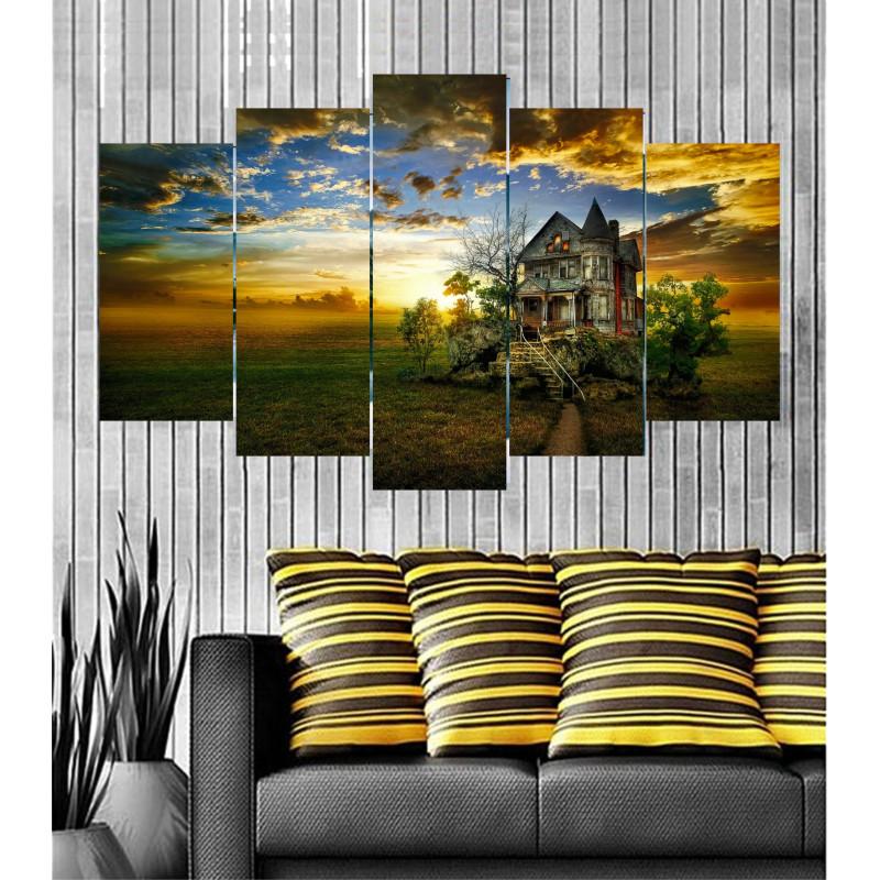 Wall Frames 5 Pieces Set Canvas - Digitally Printed Wall Canvas  post-65