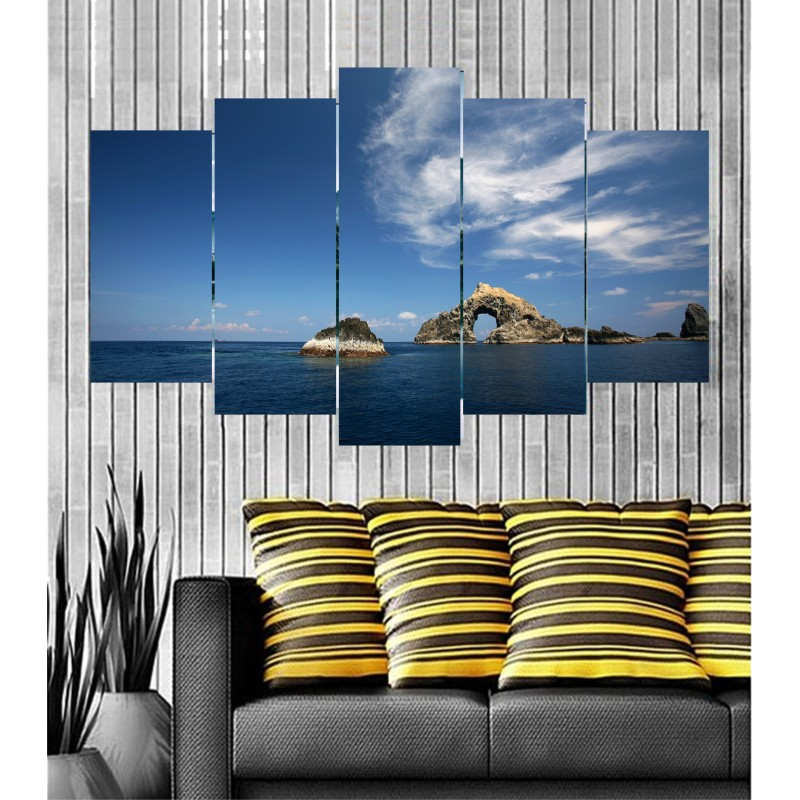 Wall Frames 5 Pieces Set Canvas - Digitally Printed Wall Canvas  post-69