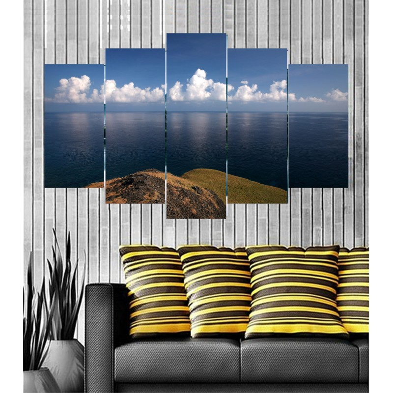 Wall Frames 5 Pieces Set Canvas - Digitally Printed Wall Canvas  post-71