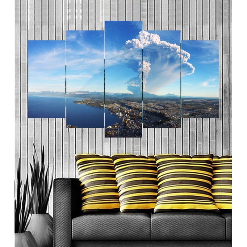 Wall Frames 5 Pieces Set Canvas - Digitally Printed Wall Canvas  post-72