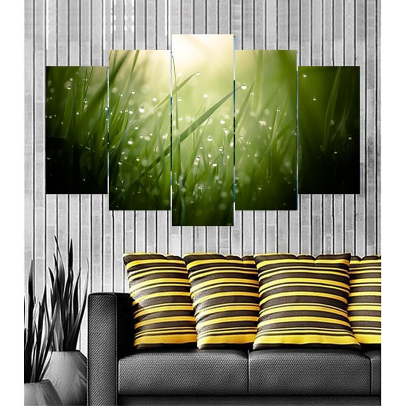 Wall Frames 5 Pieces Set Canvas - Digitally Printed Wall Canvas  post-74