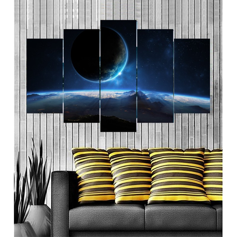Wall Frames 5 Pieces Set Canvas - Digitally Printed Wall Canvas  post-76