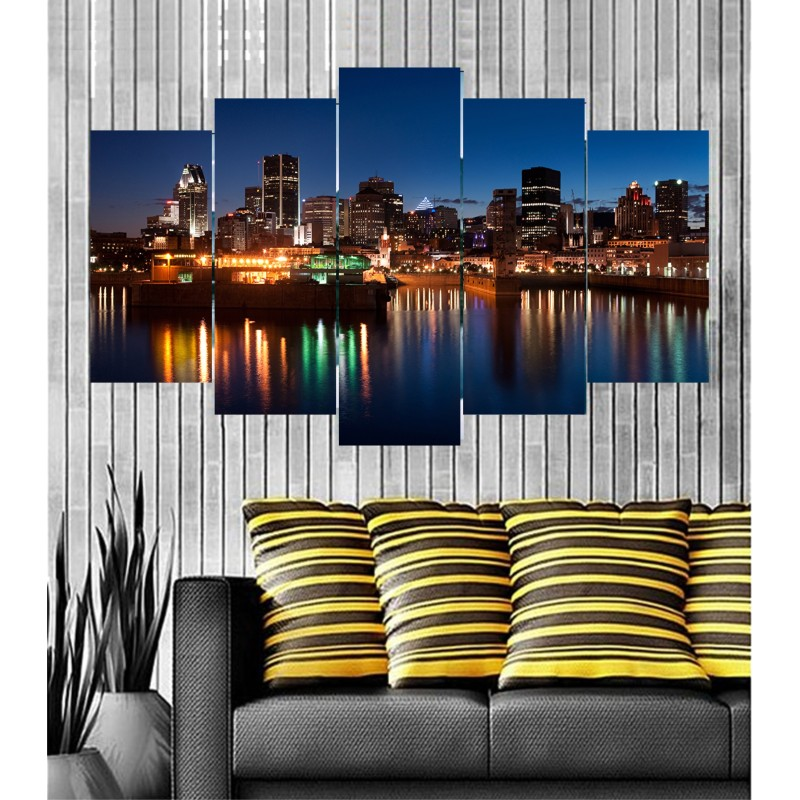 Wall Frames 5 Pieces Set Canvas - Digitally Printed Wall Canvas  post-96