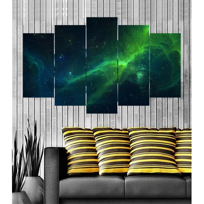 Wall Frames 5 Pieces Set Canvas - Digitally Printed Wall Canvas  post-97