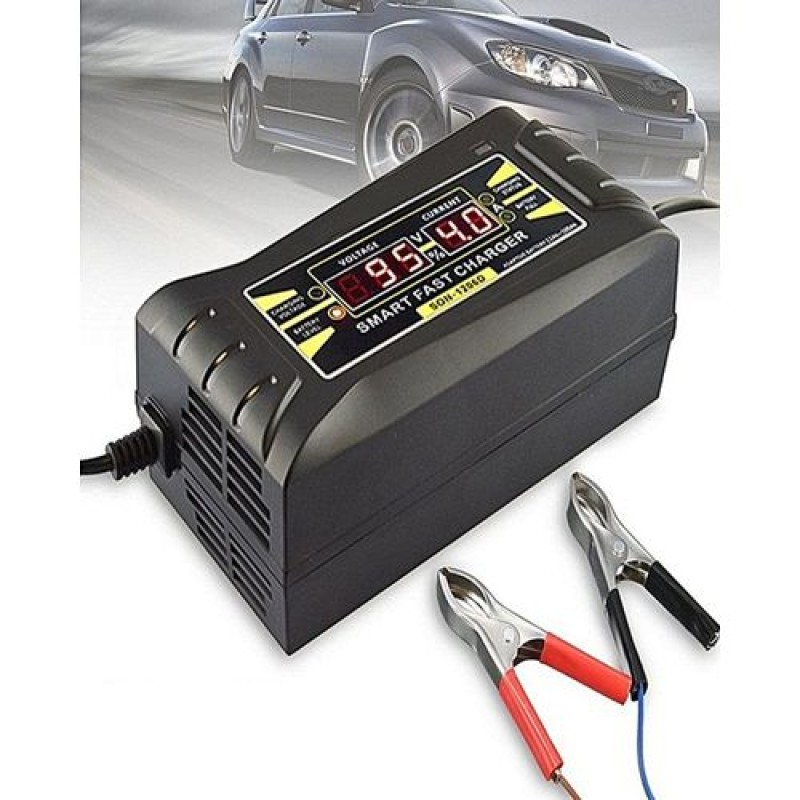 12V 6A Automatic Battery Charger Digital