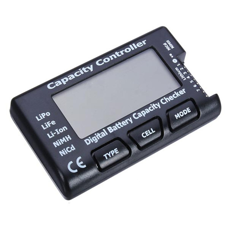2.1 RC Cell Meter-7 Digital Battery Capacity Checker/Controller