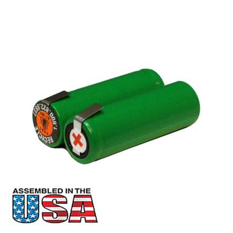 2.4V 800mAh AA Size Battery for Trimmer/Shaver