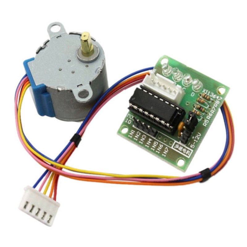 28BYJ-48 5V 4 Phase DC Gear Stepper Motor + ULN2003 Driver Board for arduino