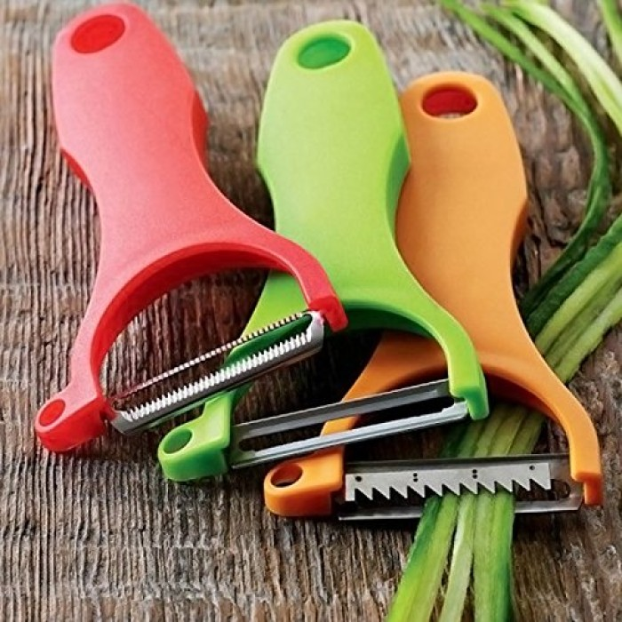 3 Sets Vegetable peeler slicer cutter