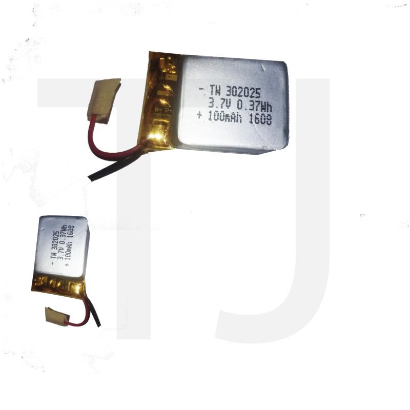 3.7v Polymer Battery 100 mAh