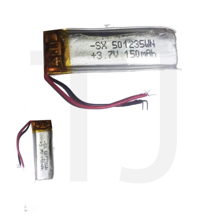 3.7v Polymer Battery 150 mAh