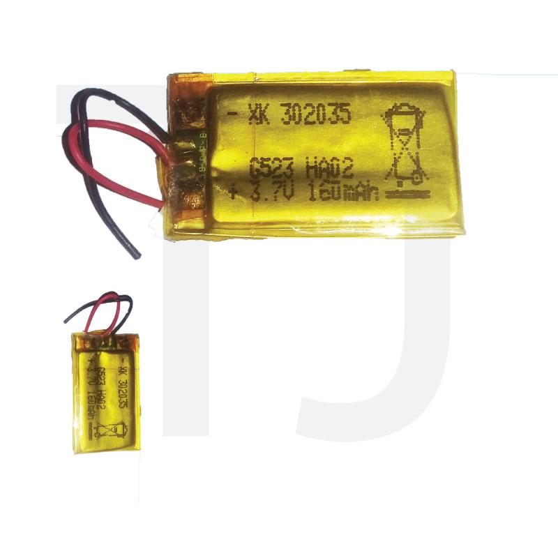 3.7v Polymer Battery 160 mAh