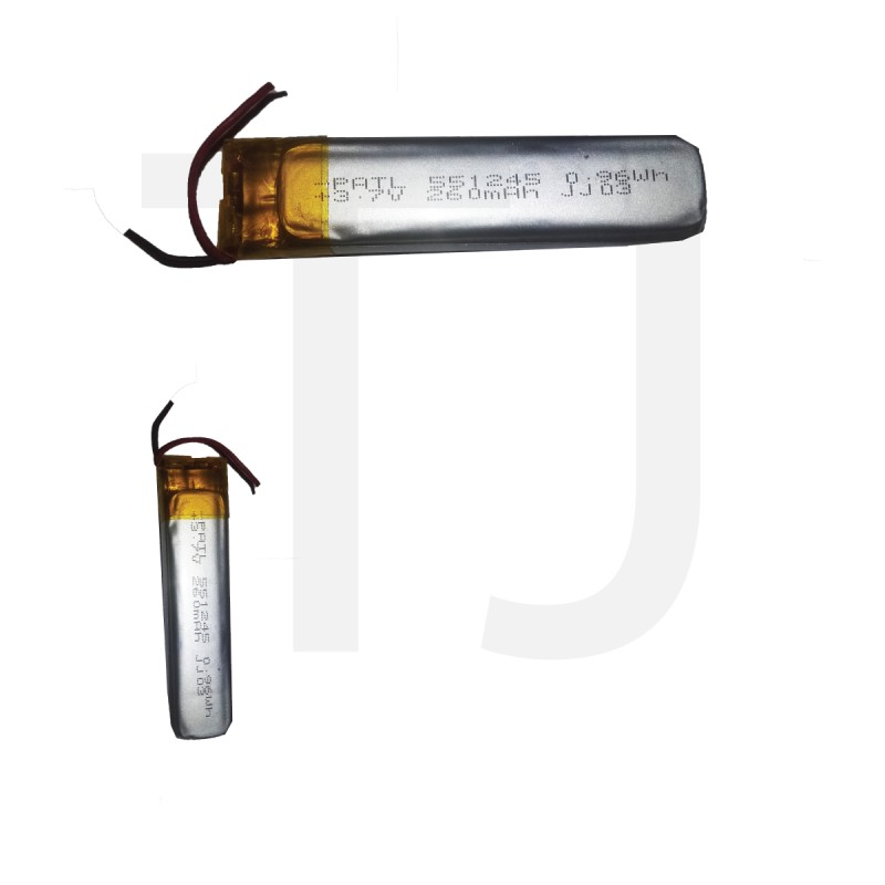 3.7v Polymer Battery 260 mAh